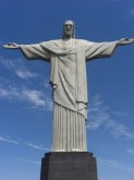 Another iconic shot that everyone will recognise as the Christ the Redeemer statue in Rio de Janeiro.