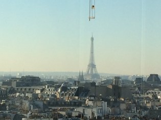 View of the Effiel Tower from the Sacre Coeur