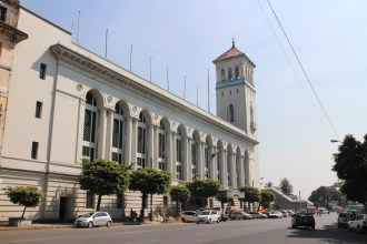 The grand colonial Port Authority building
