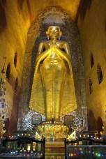 An original Buddha at Anada Pahto