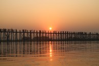 U-Bein Bridge, Mandalay