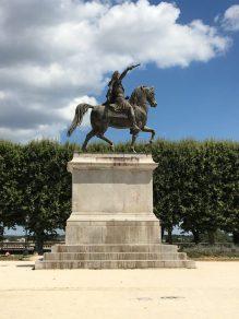 Statue of Louis XIV, Promenade du Peyrou, Montpellier