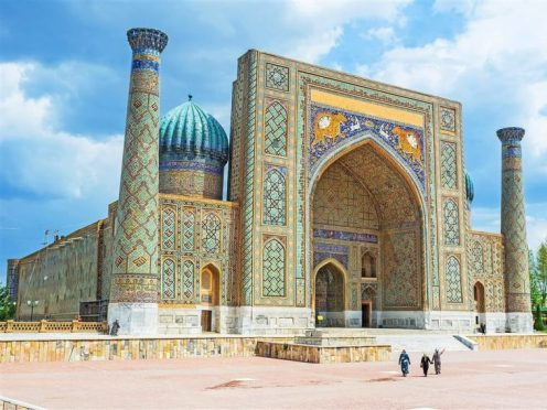 Day-3-Uzbekistan-Samarkand-The-Registan-Square-one-madrasa-ST