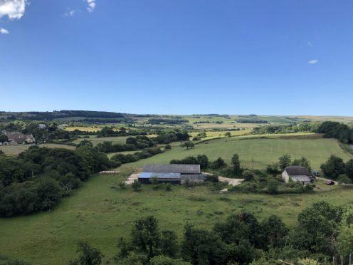 Corfe Castle views
