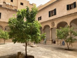 Palam Cathedral courtyard