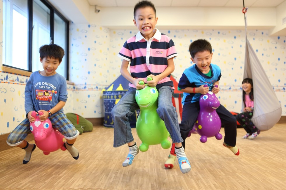 翰品酒店花蓮歡樂森林擁有許多闖關遊戲,提供親子在兒童節同樂