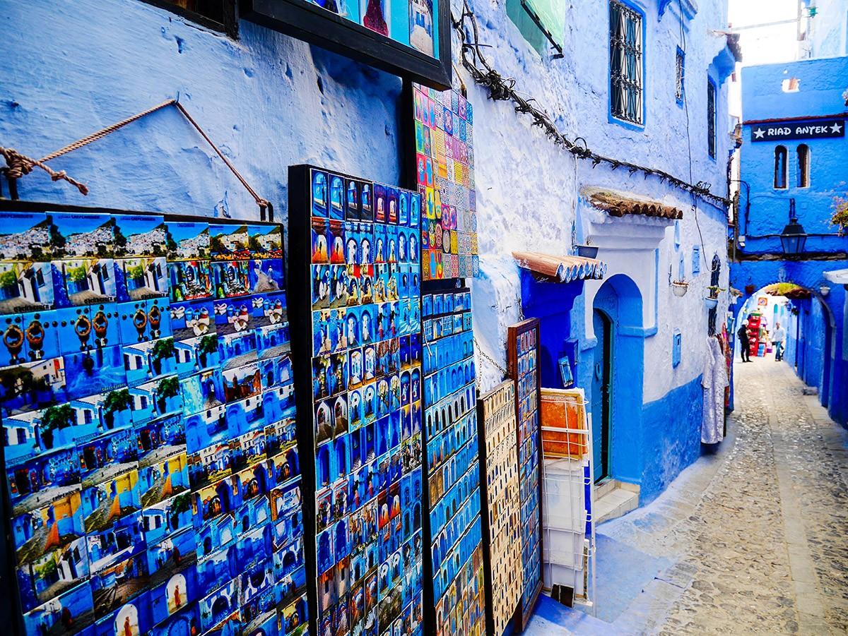 4招玩遍摩洛哥,這裏有著比希臘還藍的城市