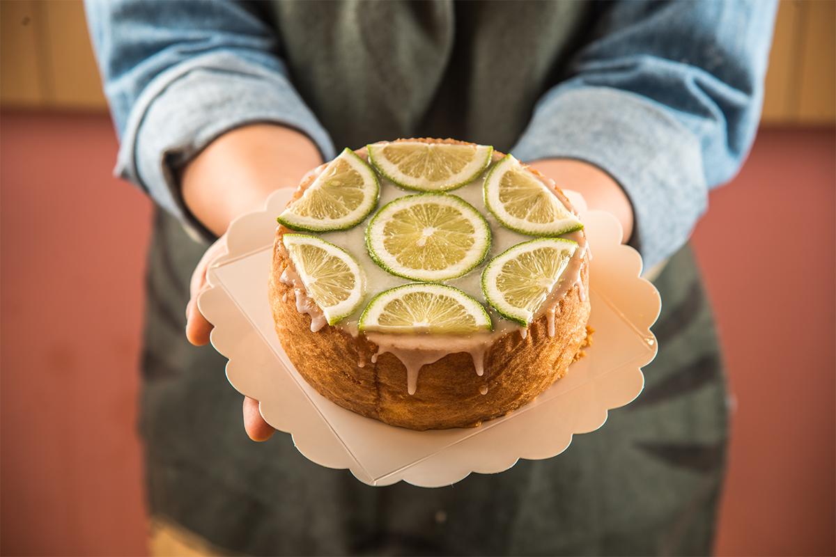 好東西就要和好朋友分享,Miso的老奶奶檸檬蛋糕這樣做