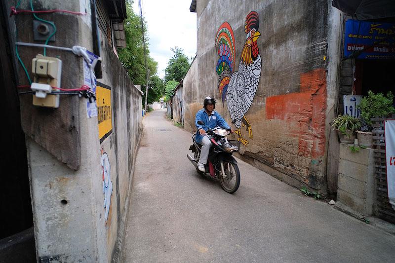 行遍天下312,慢清邁,南邦,公雞,Indra Outlet