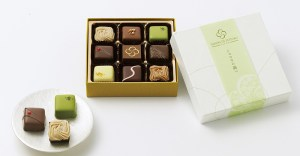 將日本四季的美景繪製在巧克力上,堪稱東西文化融合下的藝術