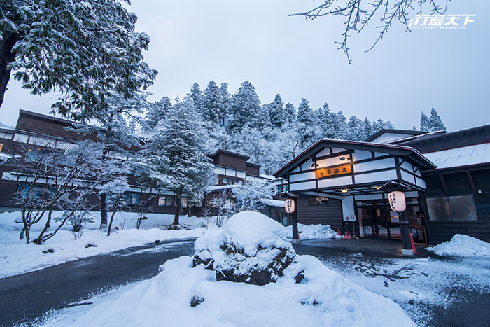 抓住冬天的尾巴,就該到日本東北感受冬日漫天雪花