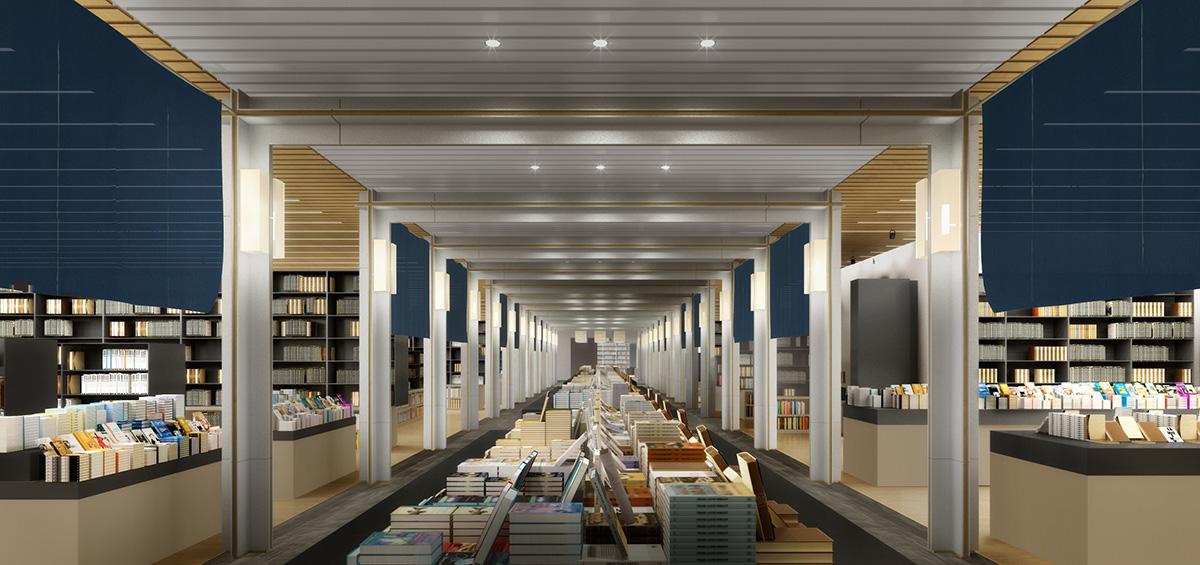 日本也可以逛誠品,誠品生活日本橋首度公布室內空間設計