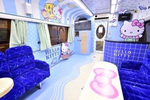 跟著Hello Kitty環遊台灣,環島之星Hello Kitty繽紛列車正式啟航