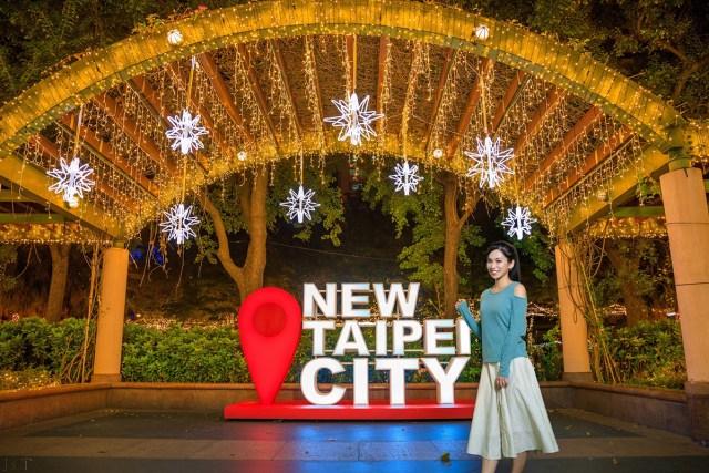 新北耶誕城4大拍照熱點,進入一場魔法夢境