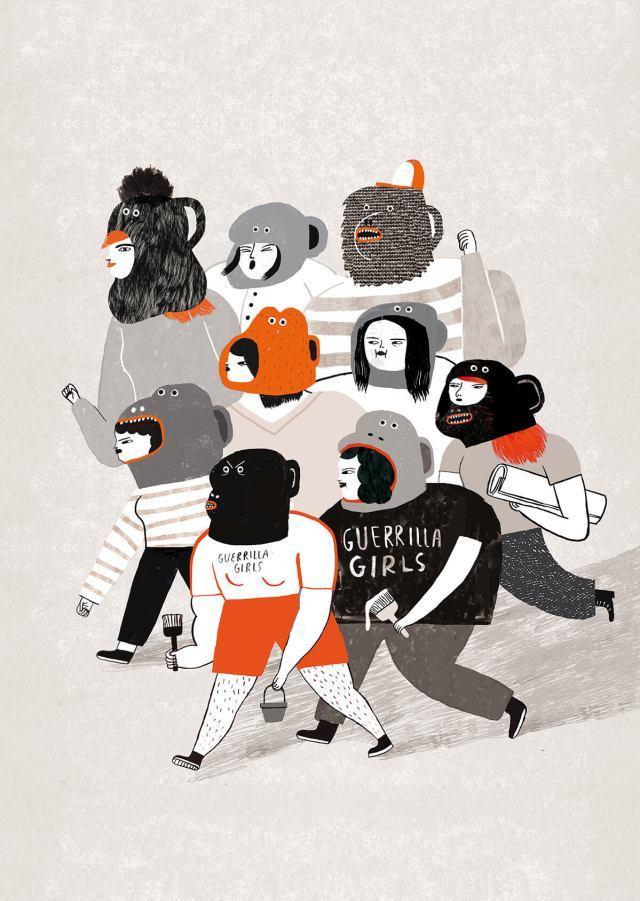 女力當道!FB、Google指定合作瑞典動態圖文設計師一起來台挺女孩