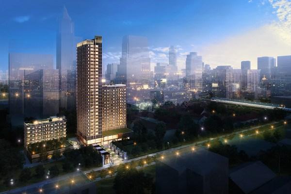 曼谷市中心新開幕無邊際泳池飯店,快閃24折扣讓你便宜入住