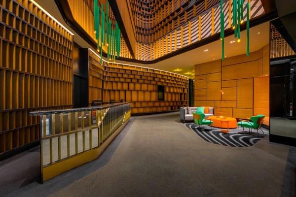 【台北好宿】用5年打造的海螺建築,座落大直美麗華