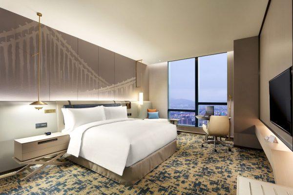 居家檢疫,隔離,long stay,台北新板希爾頓酒店