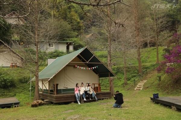 新竹,橫山,奢華露營,斑比跳跳