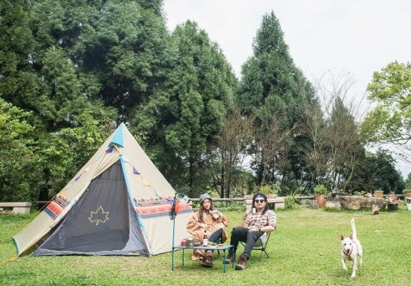 新竹,露營,大山北月,蔣雅文