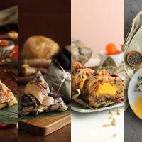 【端午.粽】奢華肉粽放入松茸松露 還有富膠原蛋白的和牛粽