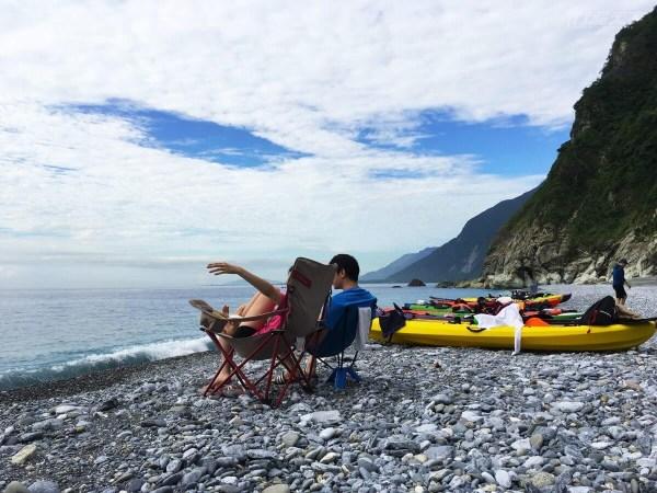 清水,清水斷崖,無人沙灘,SUP,立槳,野營,花蓮
