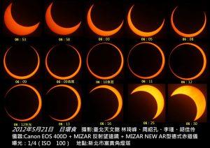 日食,日環食,嘉義,天文館,線上直播