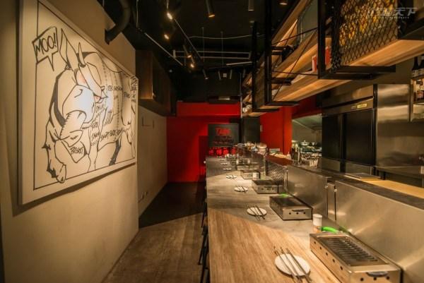 台北,單身友善,一個人餐廳,單點單片燒肉,吃燒肉 TABE YAKINIKU