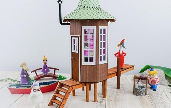 嚕嚕米主題餐廳,75週年,小不點主題菜單,水上小屋