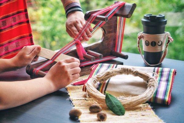 虹夕諾雅 谷關,台中,台中旅遊,原住民,泰雅族,織布,手作,泰雅織彩