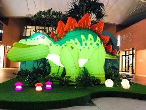 MITSUI OUTLET PARK,台中港,侏羅紀,戽斗,恐龍,聖誕樹,聖誕節,耶誕節