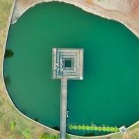 【台中.玩】比紐約中央公園一樣美 神秘景點「抹茶湖」在台中