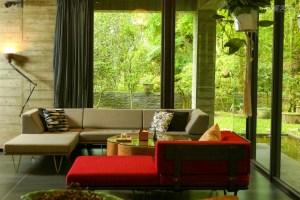花蓮,民宿,森林,清水模,玻璃屋