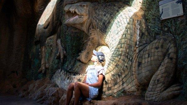 澳洲,恐龍,親子學習,線上旅遊