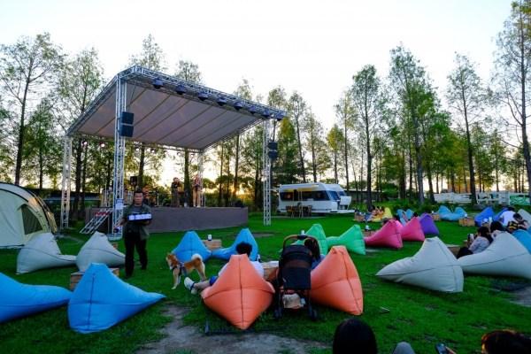 高雄,露營風,高雄餐廳,高雄美食,草地音樂會,落羽松,秘境野餐