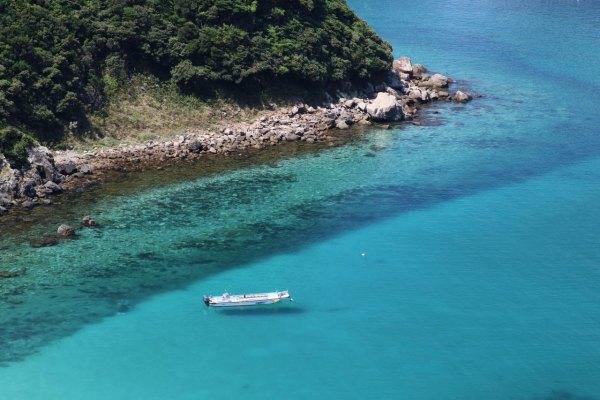 日本旅遊,高知藍,柏島,仁淀藍