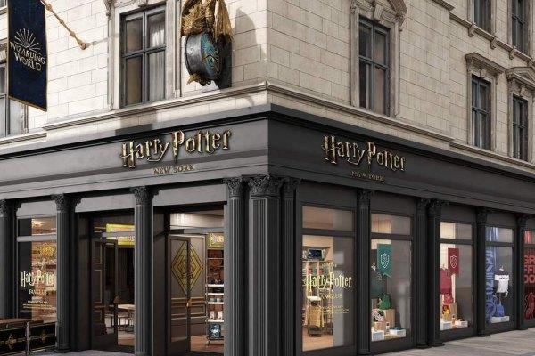 美國,紐約,哈利波特,旗艦店,虛擬實境,線上購物