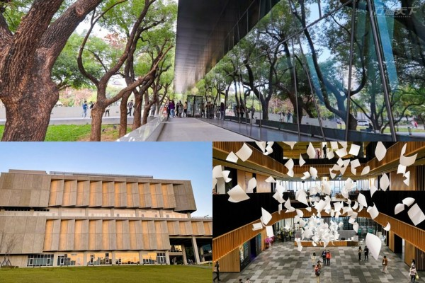 圖書館,全台最美,政大圖書館,台南圖書館,屏東圖書館