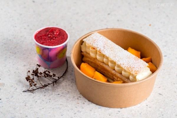法式甜點,盤飾甜點,千層派,點心組合,居家防疫