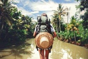 夏日旅行,一個人旅行,獨旅