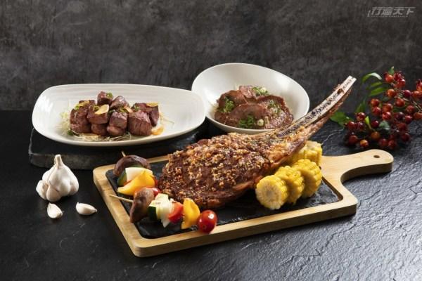 mega50,50cafe,新北美食地標,中秋烤肉,外帶大餐,龍蝦大餐,M9+和牛肉