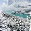 Trentino, Dolina Velle dei Laghi– Zima w bajkowej scenerii
