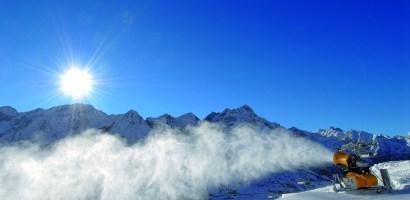 Zaawansowana technologia na stokach Trentino