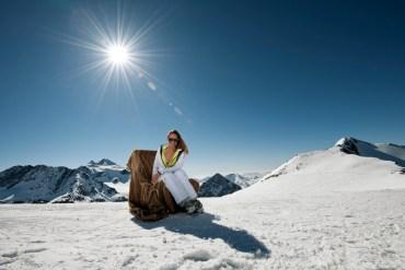 W Dolinie Stubai jazda na nartach gwarantowana jest do wiosny