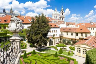 Ogród Vrtbovski – najpiękniejszy ogród czeskiej Pragi