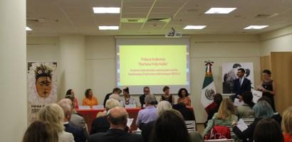 """""""Frida Kahlo w Polsce 2017""""  cykl wydarzeń kulturalnych organizowany przez Ambasadę Meksyku"""