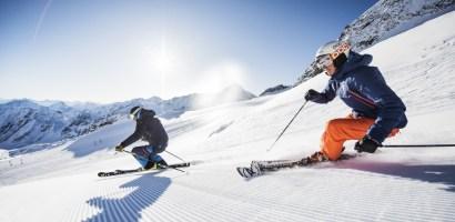 Śnieżna zabawa w Dolinie Stubai