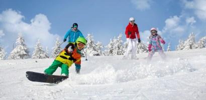 Narciarskie atrakcje dla rodzin z dziećmi w Czechach