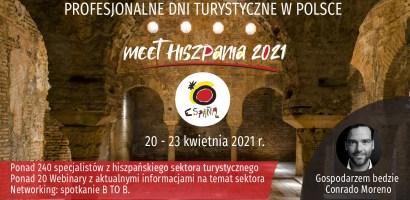 Meet Hiszpania 2021 – spotkania z hiszpanskim sektorem turystycznym