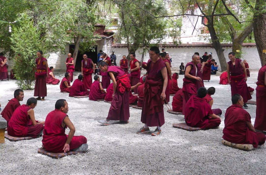 Tibet 4 day lhasa tour sera monastery monks